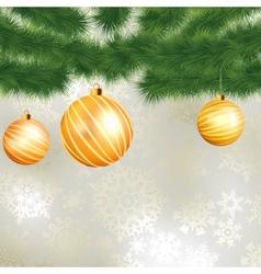 Christmas card template design EPS 8 vector image