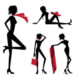 beauty women vector image vector image