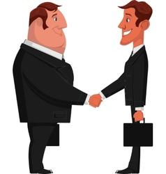 Dvy businessman vector image
