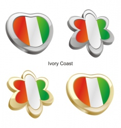 flag of Ivory coast vector image vector image
