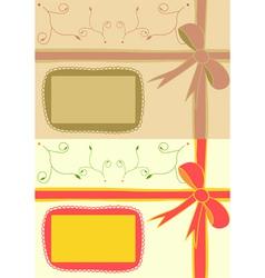 brithday invitation vector image