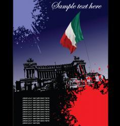 Italian image vector image