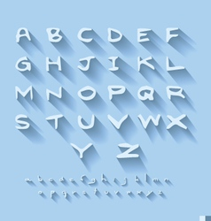Alphabet design vector
