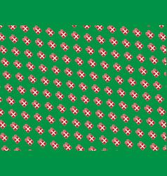 Gif card vector