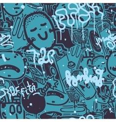 Graffiti Seamless Pattern Color vector
