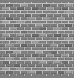 seamless pattern raw brick wall background vector image