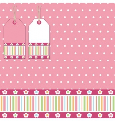 polka wrapping vector image vector image