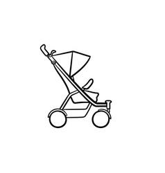 Bapushchair hand drawn sketch icon vector