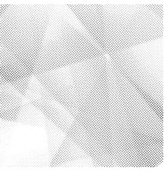 distressed halftone geometrical abstract dotted vector image vector image