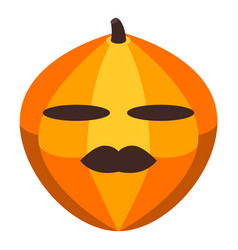 Harvest pumpkin icon isometric style vector