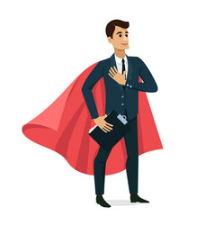 set of businessman happy character design vector image