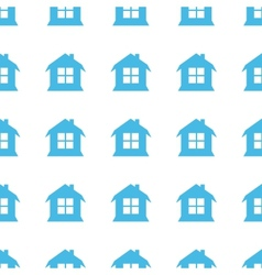 Unique House seamless pattern vector image