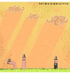 Worm background vector