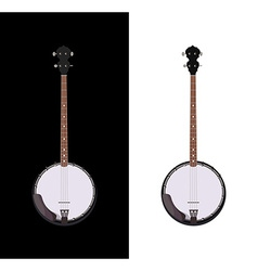 Banjo isolated vector image vector image
