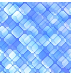 Blue Abstract Squares Background vector image
