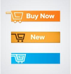 Buy now vector