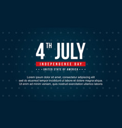 Collection stock independence day style background vector