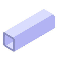 Construction gutter icon isometric style vector