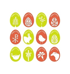 Eggs With Symbols vector