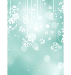 Merry Christmas greeting card EPS 8 vector image vector image