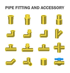 Pipe fitting vector