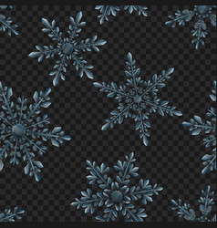 seamless pattern large transparent christmas vector image