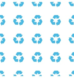 Unique Recycling seamless pattern vector