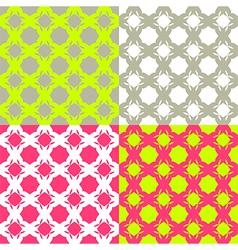 Bright checkered pattern vector