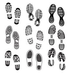 Otisak cipela Set 2 vector image