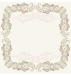 Abstract geometric lace pattern background vector image
