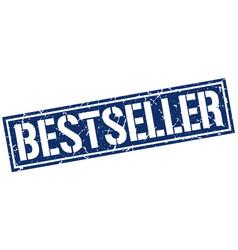 bestseller square grunge stamp vector image