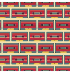 Cassette pattern vector