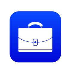 Diplomat icon digital blue vector