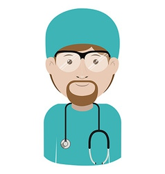 Health professional design vector image