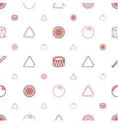Hit icons pattern seamless white background vector