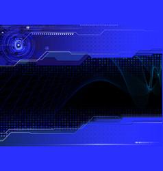 modern dark composition vector image