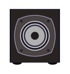 music speaker device isolated vector image