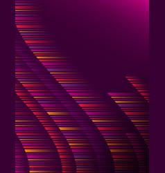 purple abstract modern background with color vector image