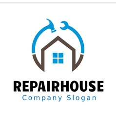 Repair House Design vector
