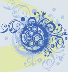 swirl 03 vector image