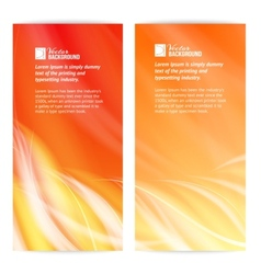 Abstract flame card vector image