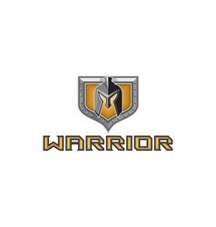Spartan Warrior Helmet Shield Retro vector image vector image