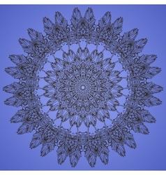 Circular pattern ornament vector image