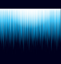 background with blue glowing striped lines vector image