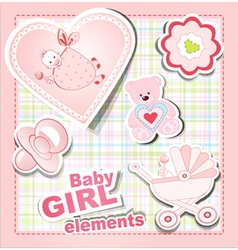 Bagirl items vector