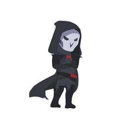 Blizzard overwatch reaper clipart vector