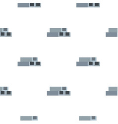 concrete or metal constructions pattern flat vector image