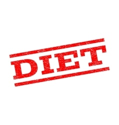 Diet Watermark Stamp vector