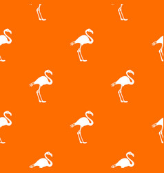 Flamingo pattern seamless vector