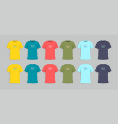 Mens tshirt design template vector